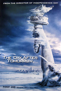 Poster for the movie - The Day After Tomorrow