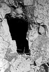 Photo of a Auschwitz-Birkenau Crematoria ceiling hole?