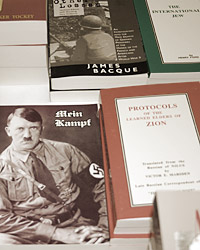 photo: Books for sale at the event