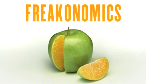 image from Freakonomics book cover