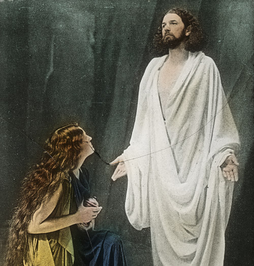 image from Andon Lang's Passion Plays in Oberammergau, circa 1920