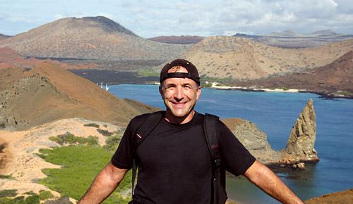 photo of Shermer at Pinnacle Rock
