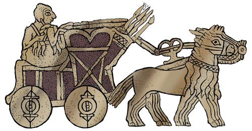 the god Ninurat has four wings
