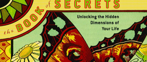 detail of Deepak's book cover