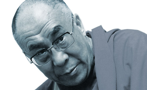 photo of the Dalai Lama by Martin Louis