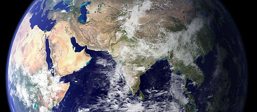 The most detailed, true-color image of the Earth (aka 'the Blue Marble') to date.
