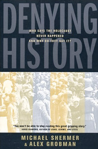 Denying History, book cover