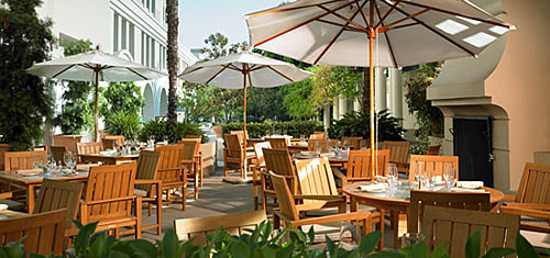 Ventanas Patio at The Westin Pasadena (the host hotel for this year's conference).