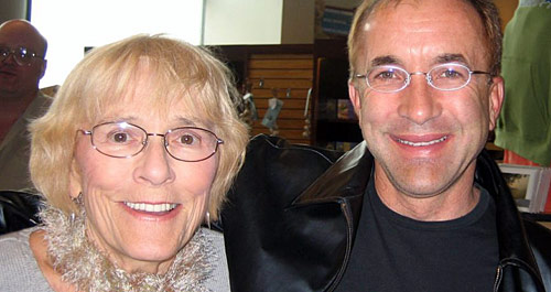 photo of Michael Shermer and Helen Kagin