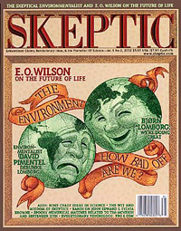 Skeptic magazine Vol. 9 No. 2, cover