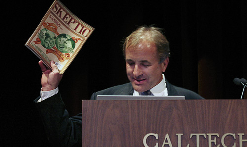 Michael Shermer during his opening remarks