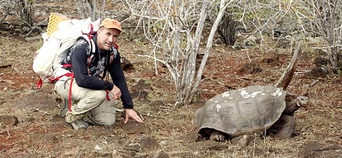 Lonesome George photo by Frank Sulloway