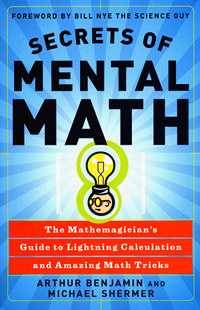 Secrets of Mental Math, cover