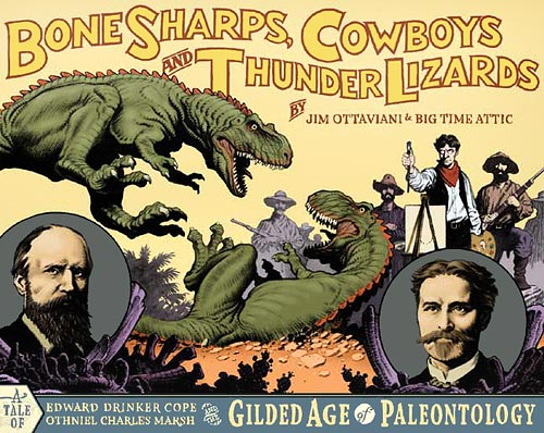 Ottaviani's Bone Sharps, Cowboys, and Thunder Lizards (cover)