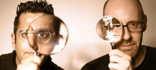 Simon Singh and Richard Wiseman