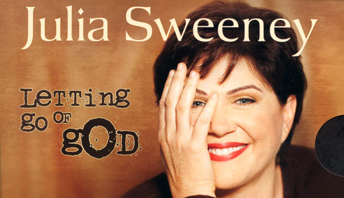 Julia Sweeney (detail of CD box art)
