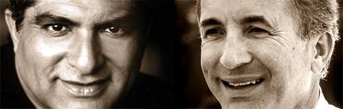 Deepak Chopra and Michael Shermer
