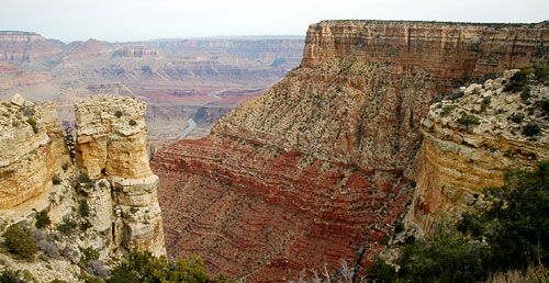 The Grand Canyon (photograph by Dave Dyet)