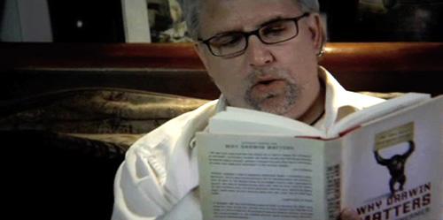 """Brian Dalton (as Mr. Deity) reading """"Why Darwin Matters"""""""