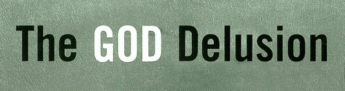The God Delusion (detail of cover)