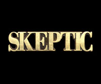 Skeptic lapel pin (not shown actual size)