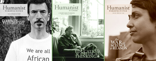 Humanist Perspectives covers