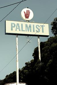 Palmist sign