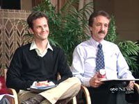 Kirk Cameron and Ray Comfort on ABC Nightline