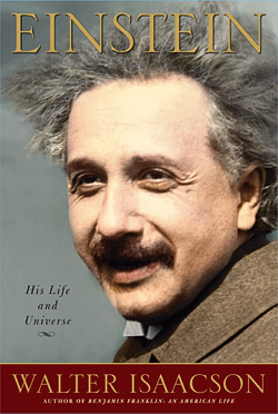 Einstein: His Life and Universe (cover)