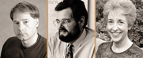 Bart Kosko, Jonathan Kirsch and Carol Tavris