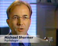 Shermer on A&E