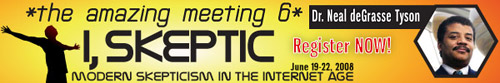 The Amazing Meeting 6 web banner