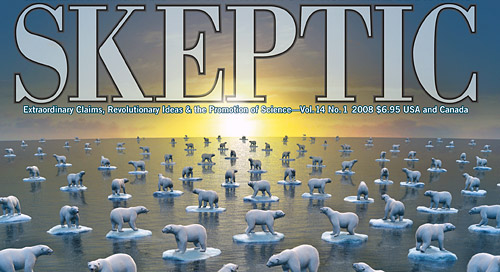 Skeptic magazine vol. 14 no. 1 (cover)