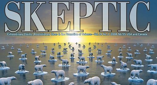 Skeptic magazine vol. 14 no. 1 (cover)