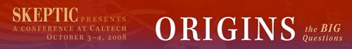 Origins website banner