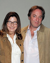 Cheryl Heuton and Nicolas Falacci