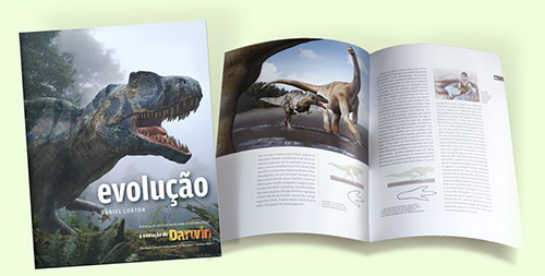 spread from Junior Skeptic Evolution book