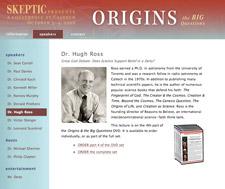 Origins website screenshot
