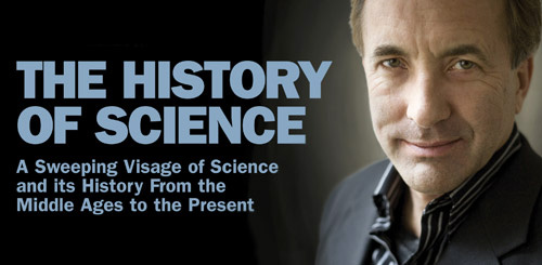 detail of the History of Science CD