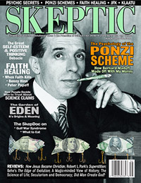 Skeptic magazine cover Volume 14 Number 4