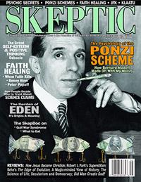 Skeptic magazine cover Volume 14 Number 4