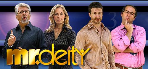 Mr. Deity photo banner