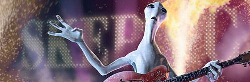 Rock Alien illustration