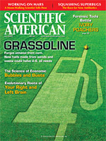 Scientific American cover (July 2009)