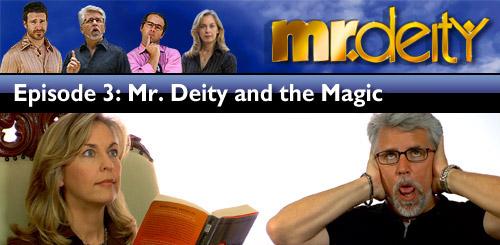 Mr. Deity Season 3 Episode 3 banner