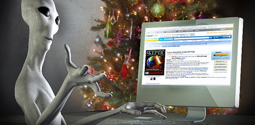 alien at computer (by Daniel Loxton and Jim WW Smith)