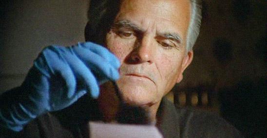 Jimmy Chilcutt dusting fingerprints