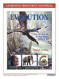 Evolution Learnign Resource (cover)