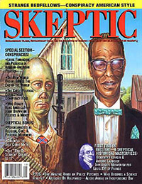 Skeptic magazine cover (volume 4, number 3)