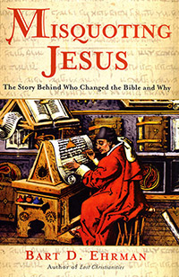 Misquoting Jesus cover